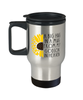 Godson Memorial Sunflower Travel Cup Big Hug in a Mug From Heaven Memory Keepsake