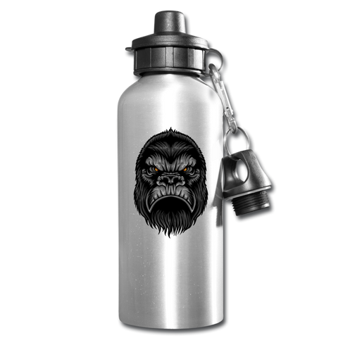 Funny Bigfoot Water Bottle Gift Drink Your Water Drink Tracker - silver
