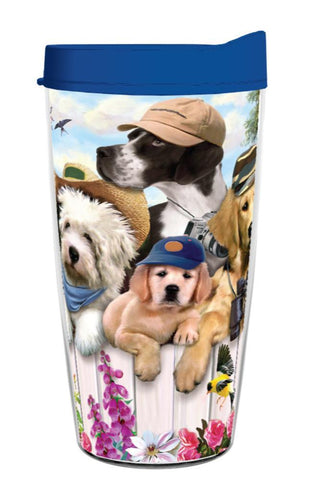 Dog Lover Outdoor Guys 16oz Tumbler