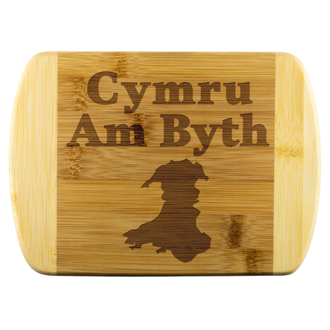 Cymru Am Byth Wales Forever Cutting Board Welsh National Pride Gifts