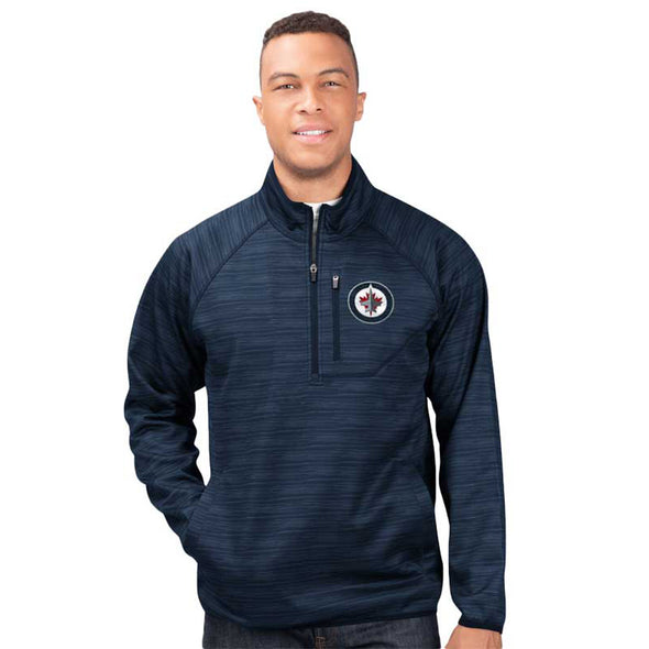 POWER PLAY HALF ZIP TOP