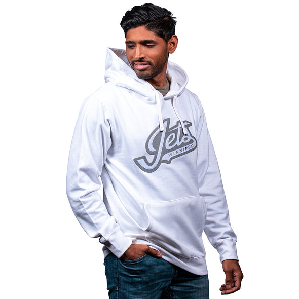 JG WORDMARK WHITEOUT HOODY