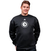 MUST HAVE 3 STRIPES CREW FLEECE