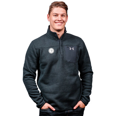 UA SPECIALIST HENLEY 2.0 BLACK