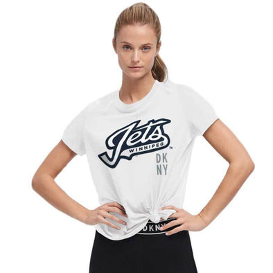 WOMEN'S DKNY PLAYER'S TEE