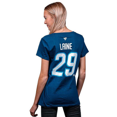 FANATICS WOMEN'S NAME/# TEE - 29 LAINE