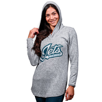 WOMEN'S PLUSH HOODY