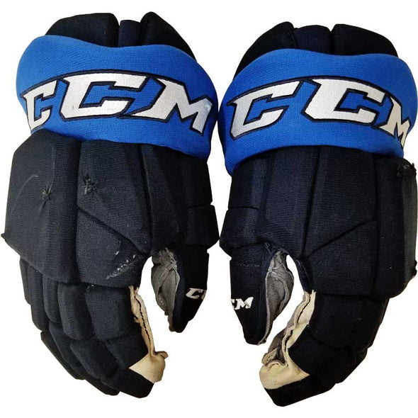 GAME USED HOCKEY GLOVES - 04 PIONK