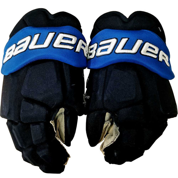 GAME USED HOCKEY GLOVES - 09 COPP