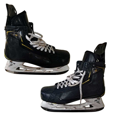 GAME USED SKATES - 28 ROSLOVIC