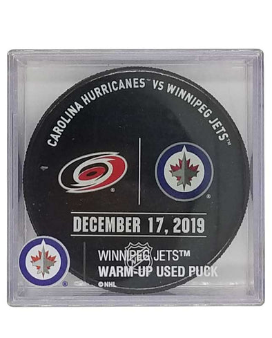 WARMUP USED PUCK 12-17-19