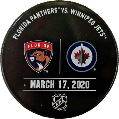 WARMUP ISSUED PUCK 03-17-20