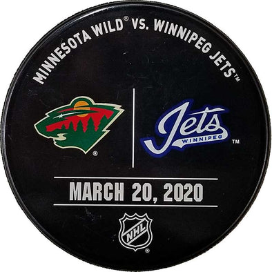 WARMUP ISSUED PUCK 03-20-20