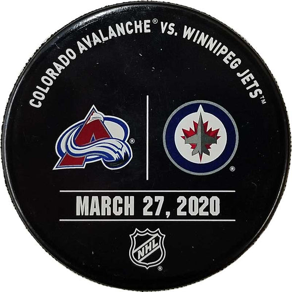 WARMUP ISSUED PUCK 03-27-20