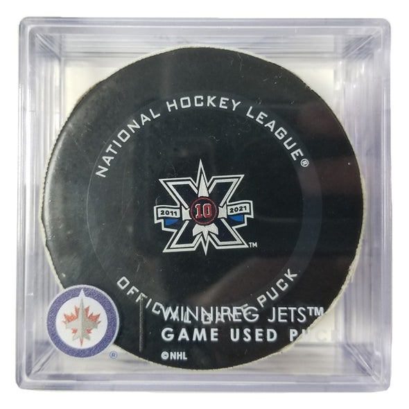 GAME USED PUCK - 2020/21