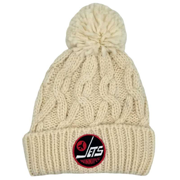 HERITAGE CABLE TOQUE - NATURAL