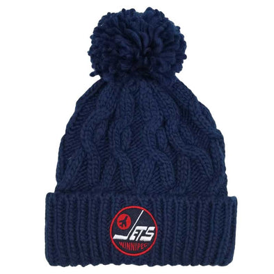 HERITAGE CABLE TOQUE - NAVY