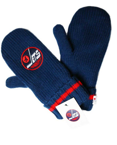 HERITAGE CHUNKY MITTS - NAVY