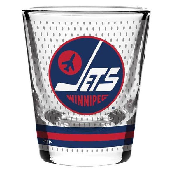 HERITAGE JERSEY SHOT GLASS - WHITE