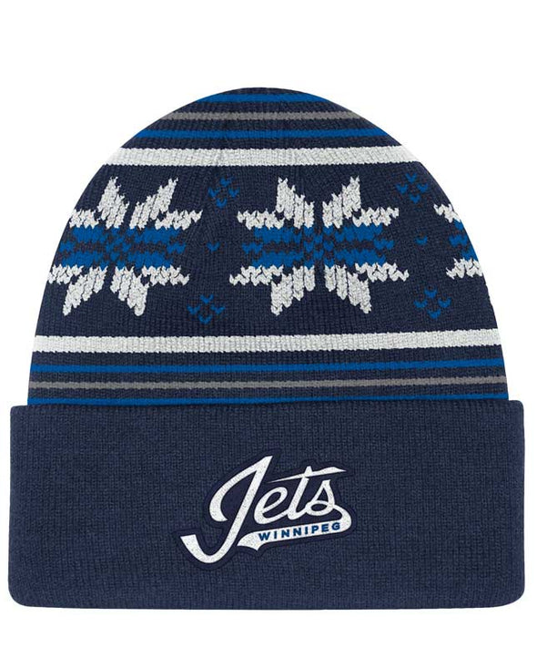 HEAD LOGO CUFFED BEANIE KNIT