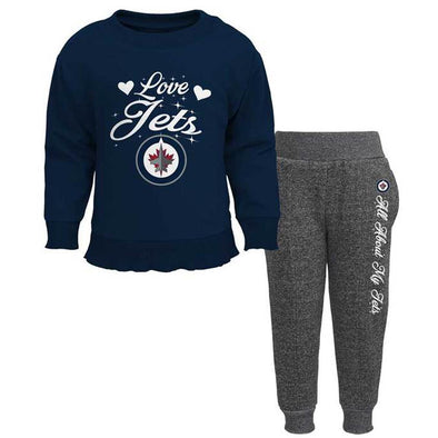 CHILD GIRLS HUG POST PANT SET