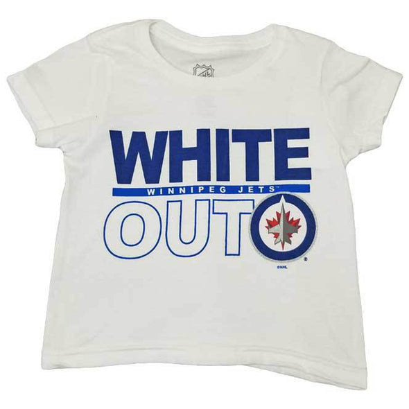 TODDLER WHITE OUT BLOCK T-SHIR