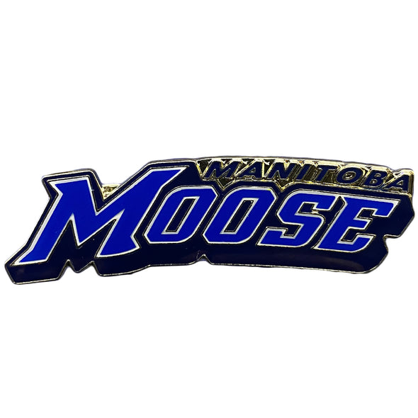 MOOSE LOGO PIN - WORDMARK