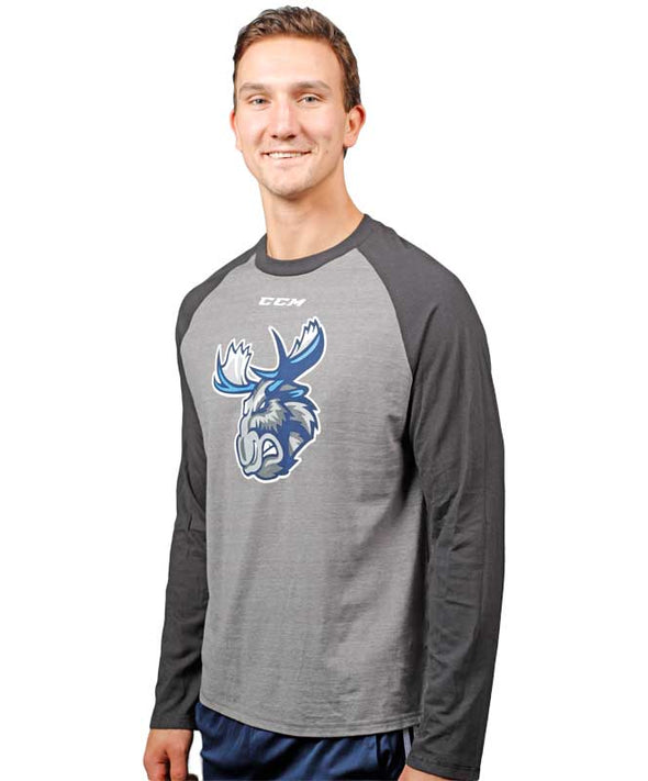 MOOSE L/S BASEBALL T-SHIRT