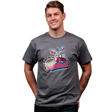 FYD MOOSE T-SHIRT - CHARCOAL