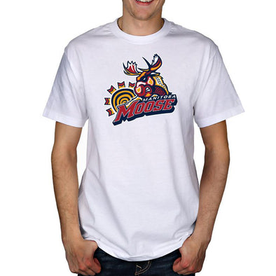 FYD MOOSE T-SHIRT - WHITE