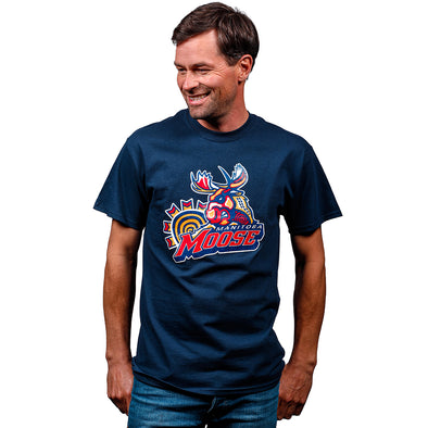 FYD MOOSE T-SHIRT - NAVY