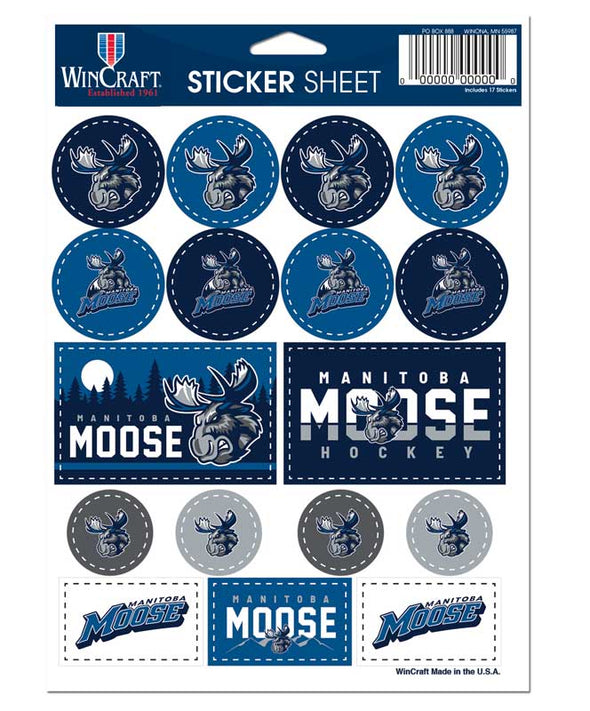 MOOSE 5 X 7 STICKER SHEET