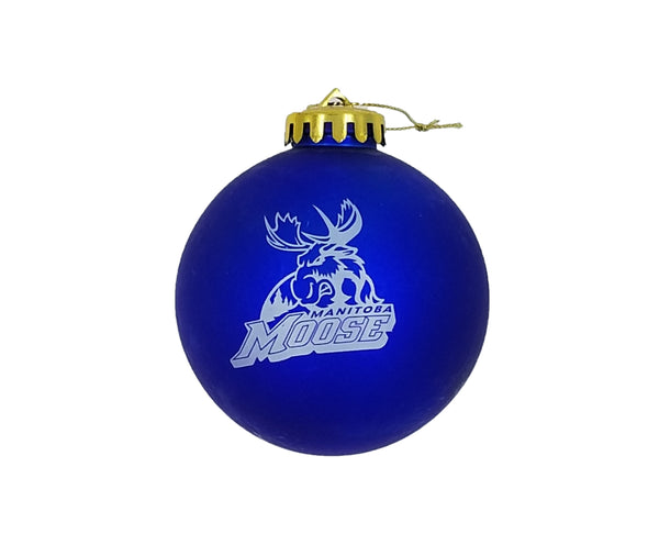 MOOSE SHATTER PROOF ORNAMENT