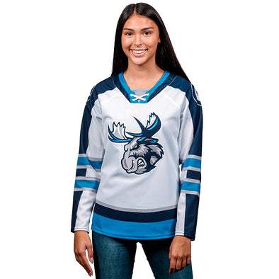 MOOSE WOMEN'S QUICKLITE JERSEY -WHITE
