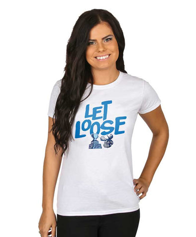 MOOSE WOMEN'S LET LOOSE T-SHIRT