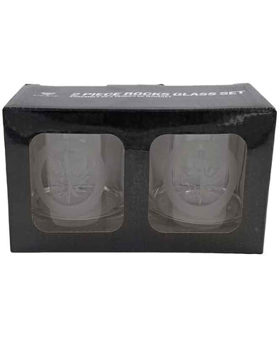 2 PACK ETCHED ROCKS GLASSES