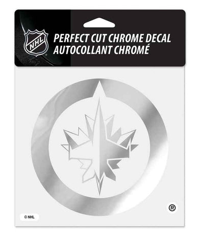 6 X 6 PERFECT CUT CHROME DECAL