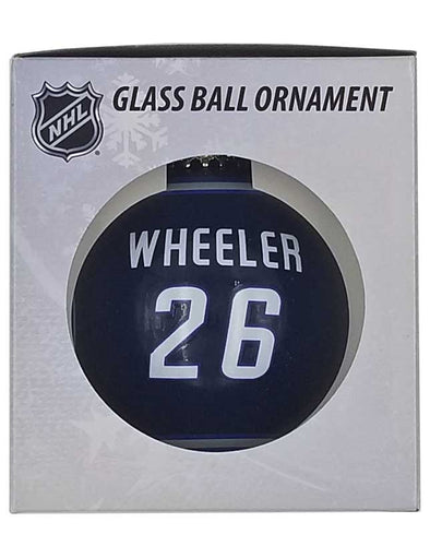 GLASS BALL ORNAMENT - 26 WHEELER