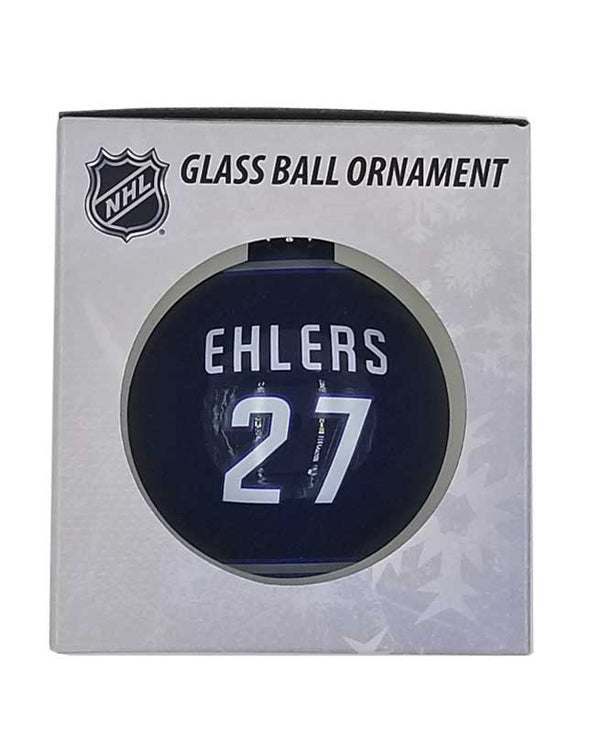 GLASS BALL ORNAMENT - 27 EHLERS