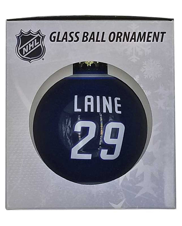 GLASS BALL ORNAMENT - 29 LAINE
