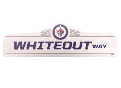 WHITEOUT WAY SIGN