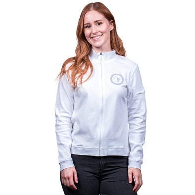 WOMEN'S PIMA FULL ZIP TOP