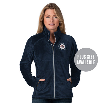 WOMEN'S TIE BREAKER FLEECE ZIP