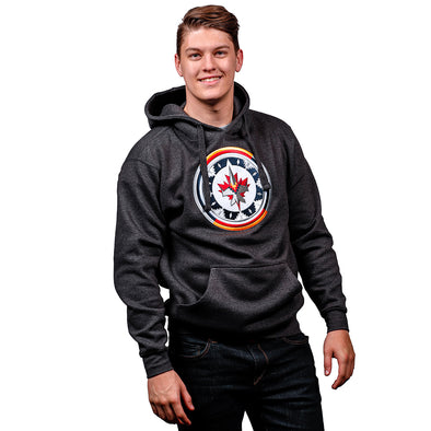 WASAC CREST HOODY CHARCOAL
