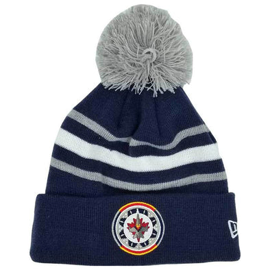 WASAC POM KNIT NAVY/GREY