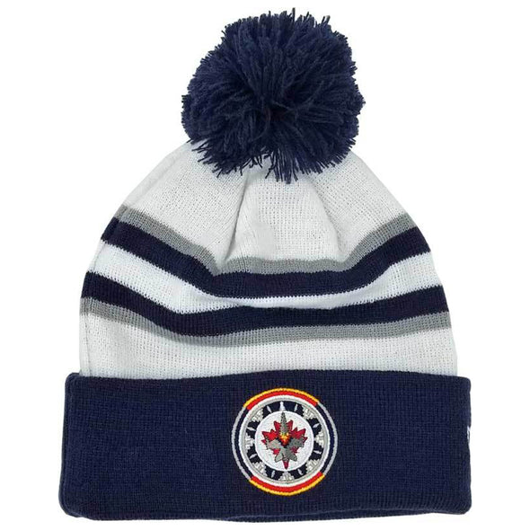 WASAC POM KNIT WHITE/NAVY