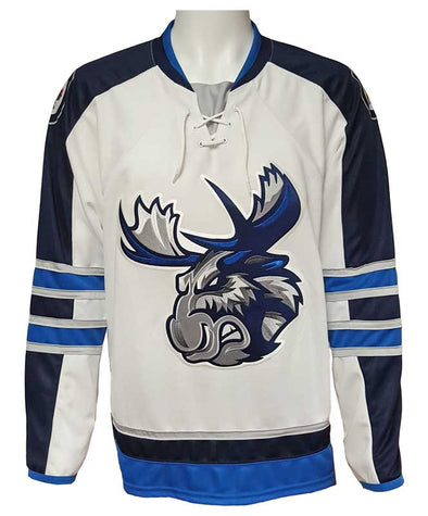 MOOSE JERSEY ADULT - WHITE -