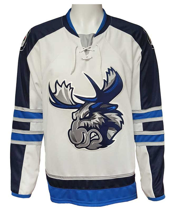 MOOSE JERSEY ADULT - WHITE