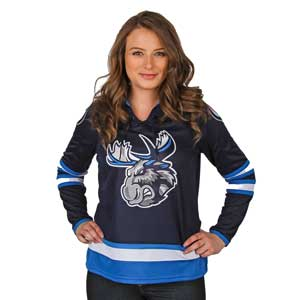 MOOSE JERSEY WOMEN'S - NAVY