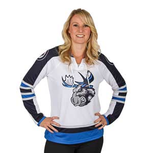 MOOSE JERSEY WOMEN'S - WHITE